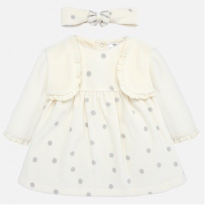 Baby dress with strip Mayoral