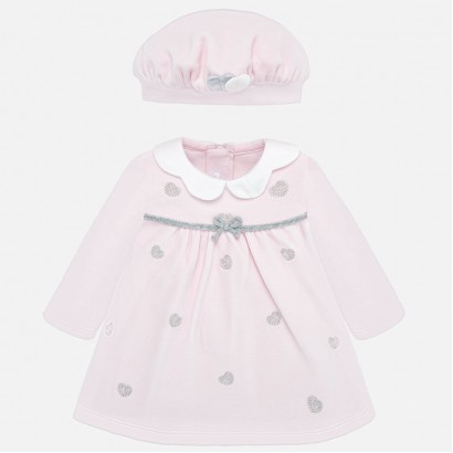 Baby dress with hat Mayoral