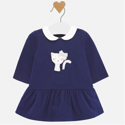 Baby dress with application Mayoral