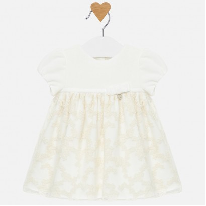 Baby dress with embroidery Mayoral