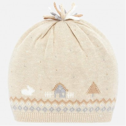 Knitted baby hat Mayoral
