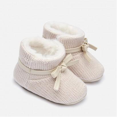 Baby knitted boots Mayoral