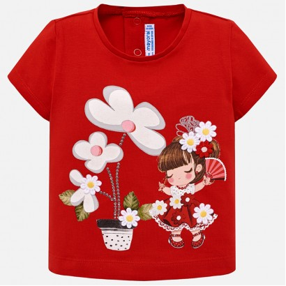 Baby Girl's 'Smile' t-shirt Mayoral