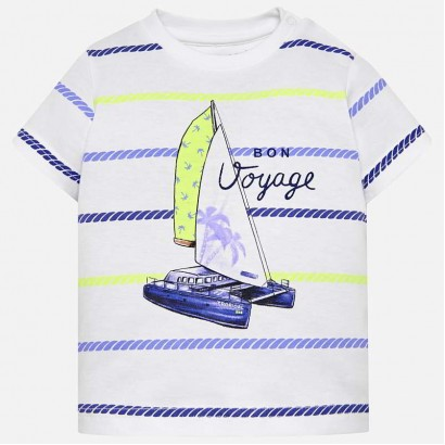 Baby Boy Striped t-shirt Mayoral
