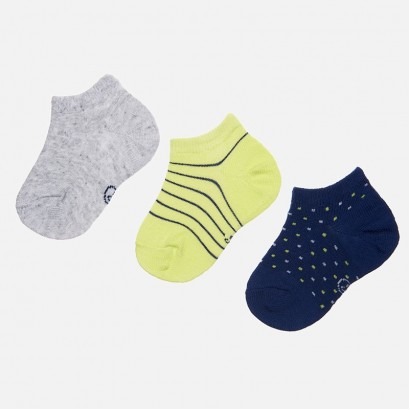 Baby Boys Set of 3 pairs of Socks Mayoral