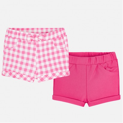 Baby Girls Set of 2 Shorts Mayoral