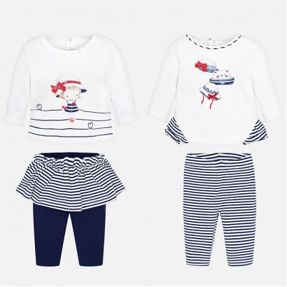 Baby Girl 4-Piece Leggings Set Mayoral