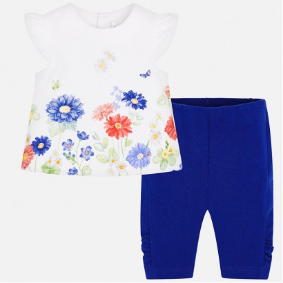 Baby Girls Top and cropped Leggings Mayoral