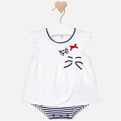 Baby Girls Bodysuit Dress Mayoral