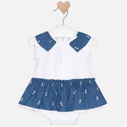 Baby Skirted Bodysuit Mayoral