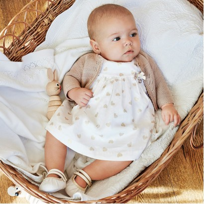 Baby Dress and Bloomers Set Mayoral
