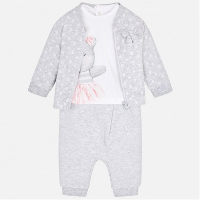 Baby Three Piece Tracksuit Mayoral