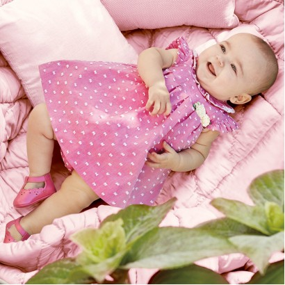Baby Dress with Bloomers Mayoral