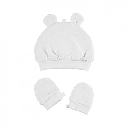 Girls Set of Beanie and Mittens Mayoral