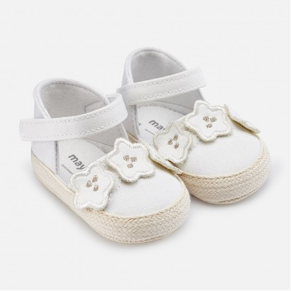 Baby Girl Espadrille Style Sandals Mayoral