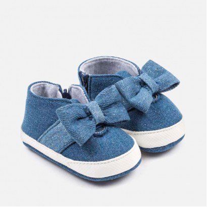 Baby Girls Sporty Bow shoes Mayoral