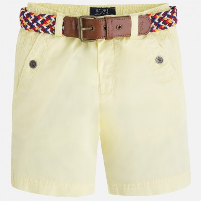Children's colored shorts Mayoral with ties for boy