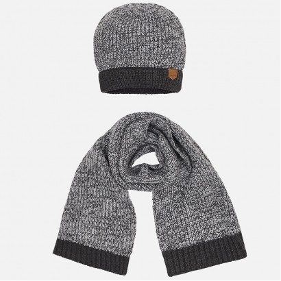Kids Set of Beanie and Scarf Mayoral