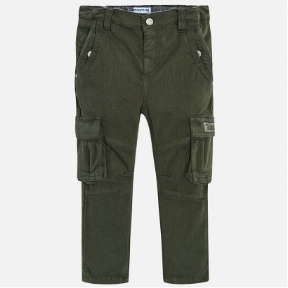 Boys Cargo Trousers Mayoral
