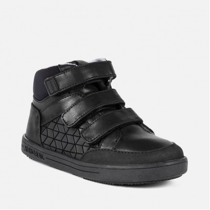 Boys High-Top Monocolour Trainers Mayoral