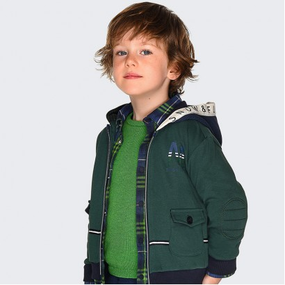 Boy's pullover with neckline Mayoral