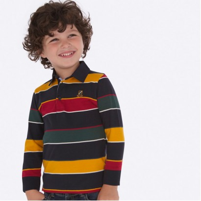 Boy's checked polo blouse Mayoral
