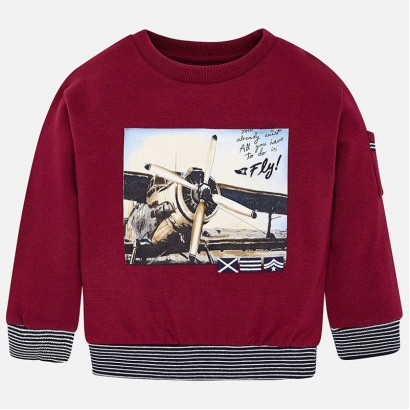 Kid's long-sleeve blouse Mayoral Plane