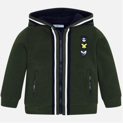 Boy's sweatshirt with emblems Mayoral
