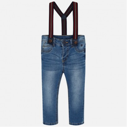Boy's jeans with braces Mayoral