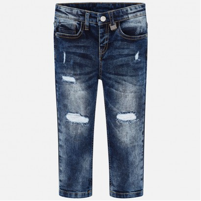 Kid's jeans with frayed effect Mayoral