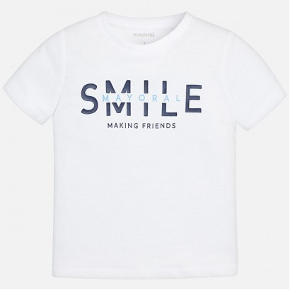 Boys Smile T-shirt Mayoral