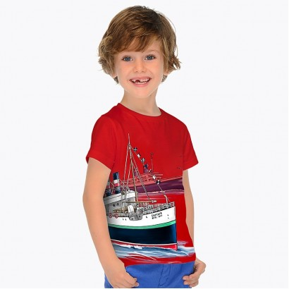 Boys 'Captain' T-shirt Mayoral