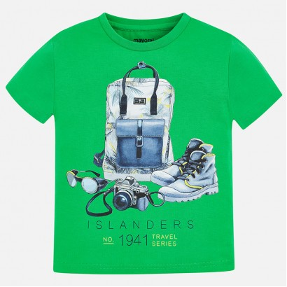 Boys 'Travel Series' T-shirt Mayoral