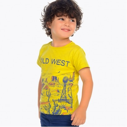 Boys T-shirt Wild West Mayoral