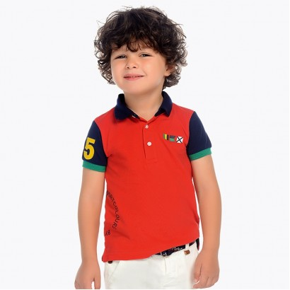 Boys Polo Sporty Colours Mayoral