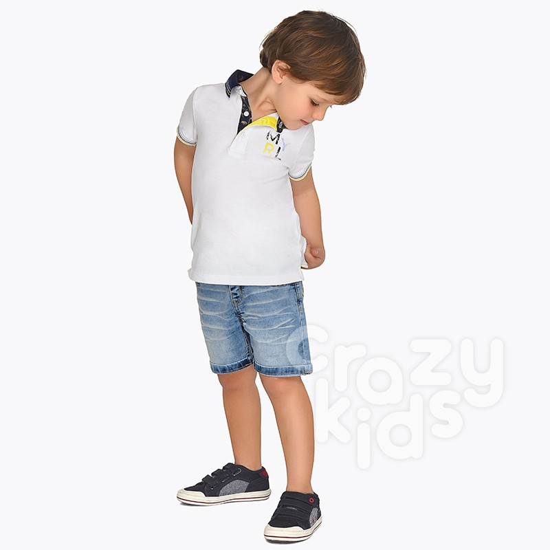 Boys Palm Jeans Shorts Mayoral