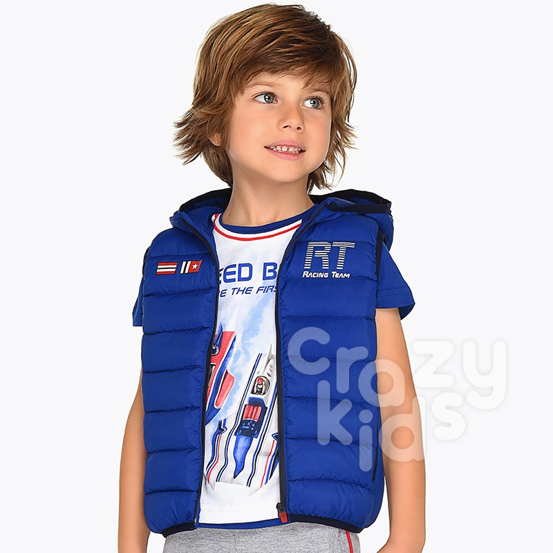 Boys Padded Gilet Mayoral