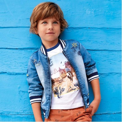 Boys Denim Jacket Wild Boy Mayoral