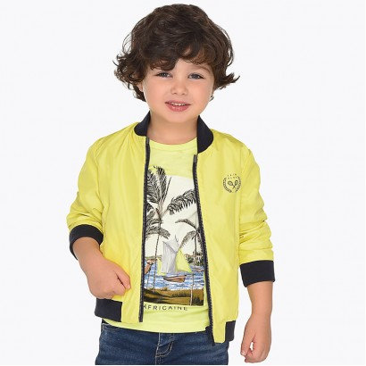 Boys Reversible Windbreaker Jacket Mayoral