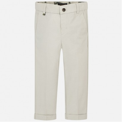 Boys Linen Trousers Mayoral