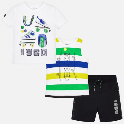 Kids Sporty 3-Piece Set Mayoral