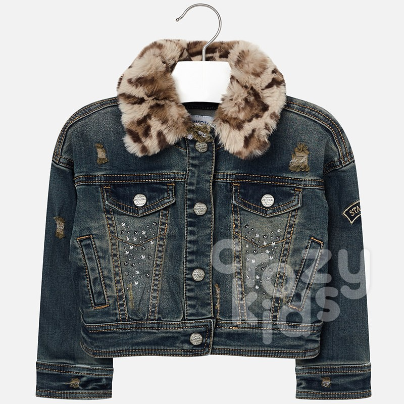 Girls Denim Jacket Mayoral
