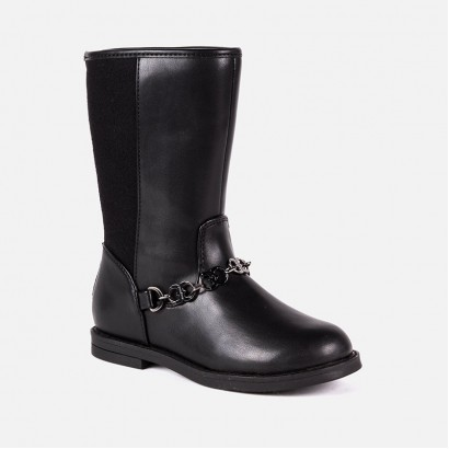 Girls Chain Boots Mayoral