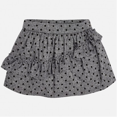 Girls Polka Dot Skirt Mayoral
