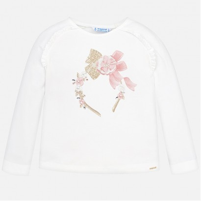 Girl's long-sleeve blouse Mayoral