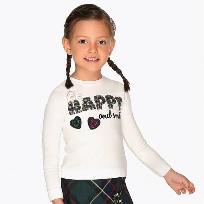 Girl's blouse Mayoral Happy
