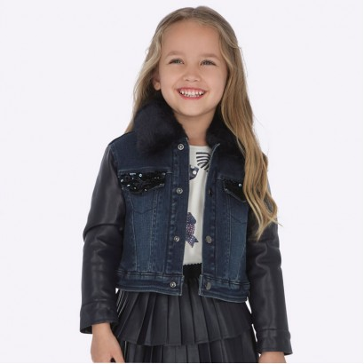 Combined girl's jacket Mayoral