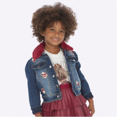 Boy's denim jacket Mayoral