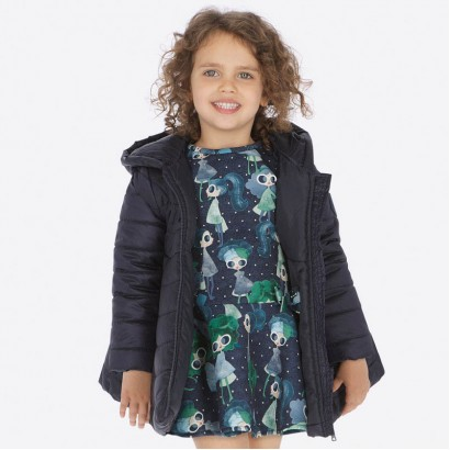 Elegant girl lined jacket Mayoral