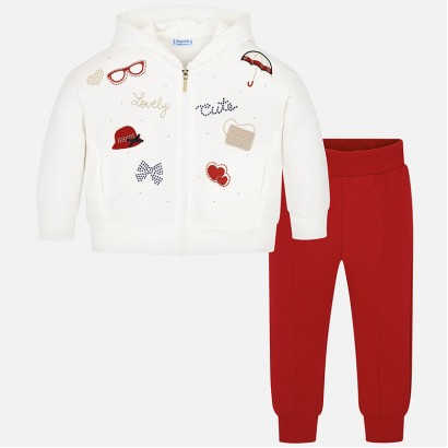 Kid's sport set with embroidery Mayoral